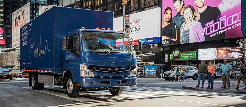 eCanter вече се продава и вози стоки в Япония