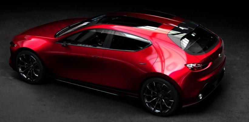 17. Mazda 3: Новият компактен модел на Mazda ще изглежда като показаната тук концептуална разработка Kai. Което моментално ни кара да губим търпения да го видим.