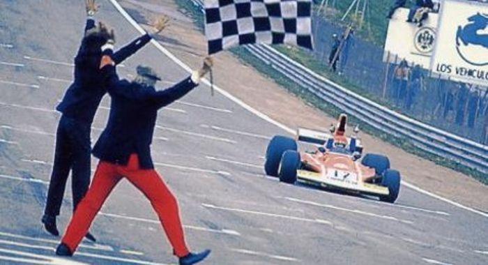 Първата победа - Гран при на Испания 1974