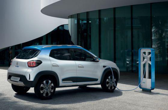 K-ZE в момента е модел само за китайския пазар, но Renault разработва европейска версия