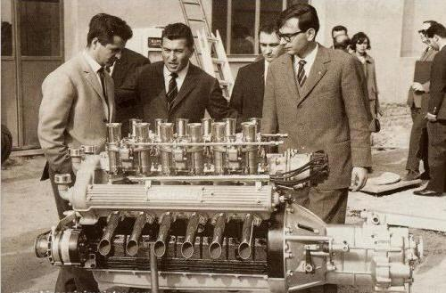 ... който е разработен през 60-те за модела 350 GT