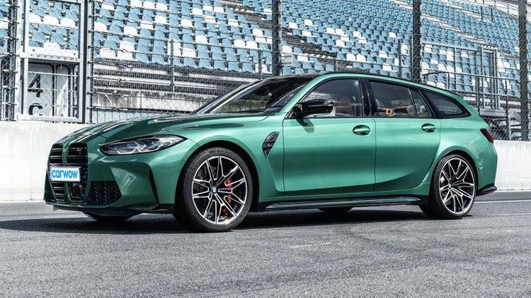 В интернет е пълно с рендъри на бъдещото M3 Touring, като този на CarWow изглежда доста реалистично