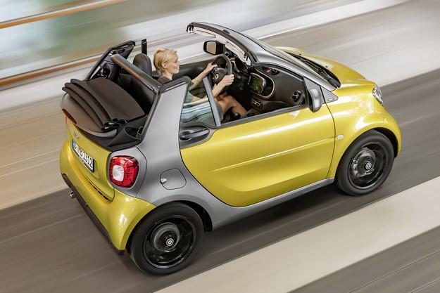 Smart показа новия кабриолет Fortwo
