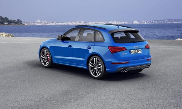 Audi SQ5 TDI стана по-мощен, но и не по-бърз