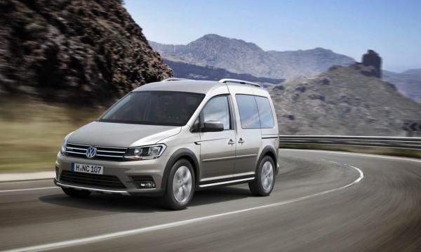 Volkswagen Caddy получи всъдеходен вариант