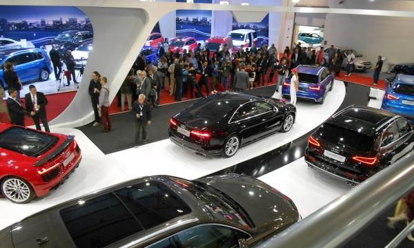 Отвори врати най-големият автосалон в България