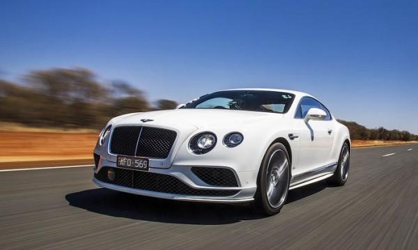 Bentley Continental GT Speed вдигна 331 км/ч