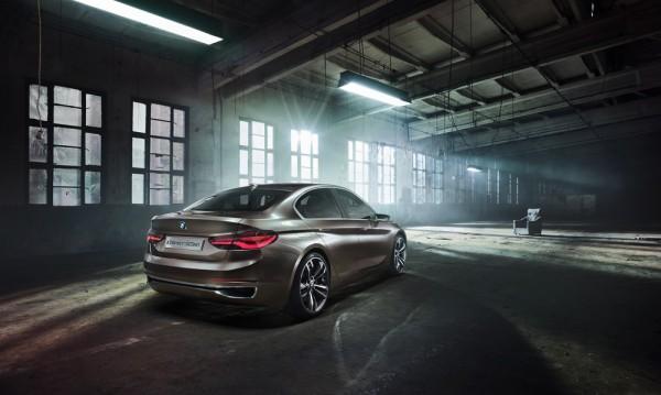 BMW направи малък седан