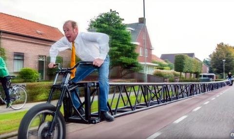 Най-дългият велосипед в света