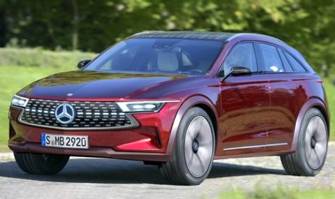 Евтин електромобил от Mercedes-Benz