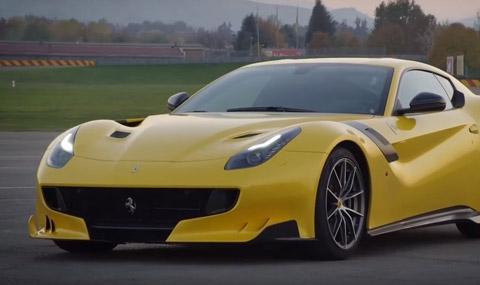 Лимитираното Ferrari F12 TDF разпродадено