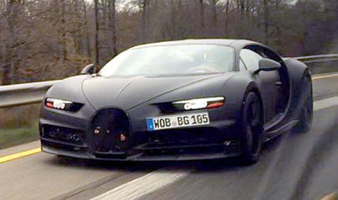 Премиерата на Bugatti Chiron ще бъде в Женева