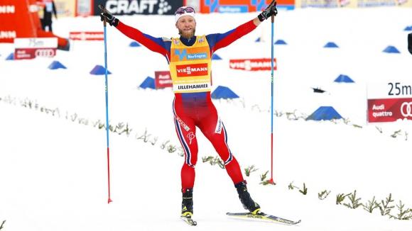 Мартин Йонсруд Сундби спечели скиатлона на 2 по 15 км