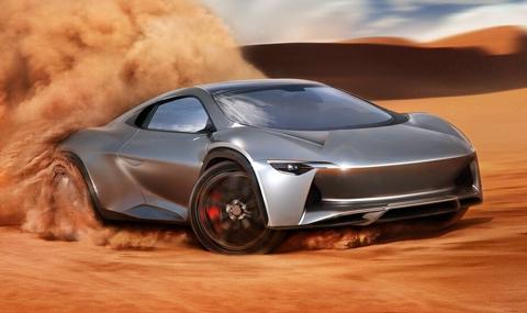 Всъдеходно купе с двигател от Bugatti