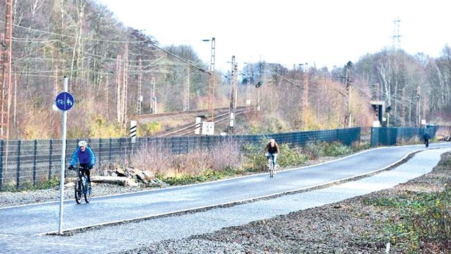 Германия започна изграждането на велосипедна магистрала