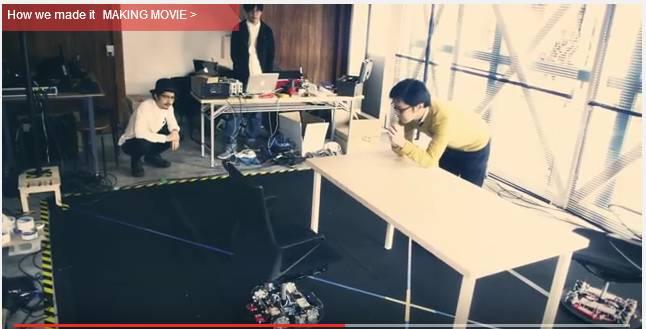 Вижте как Нисан се справя с паркиране на... столовете в офиса си. Яко видео!