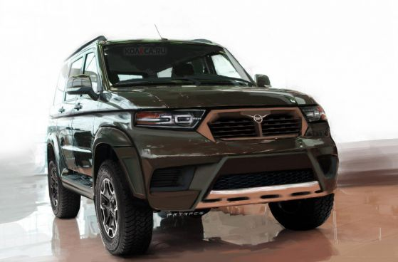 Новият УАЗ: 3170 ще бъде модерен кросоувър