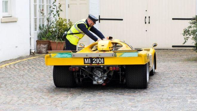 Глобиха 45-годишно състезателно Ferrari, струващо близо 13 млн. евро