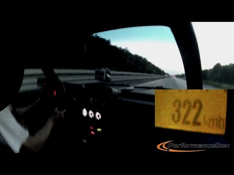 Golf 2 лети с 322 км/ч. Действието не се развива по магистралата за Перник. Видео