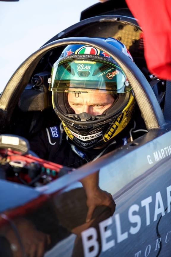 Гай Мартин счупи рекорда за скорост на Triumph. Готви се за 600+ км/ч