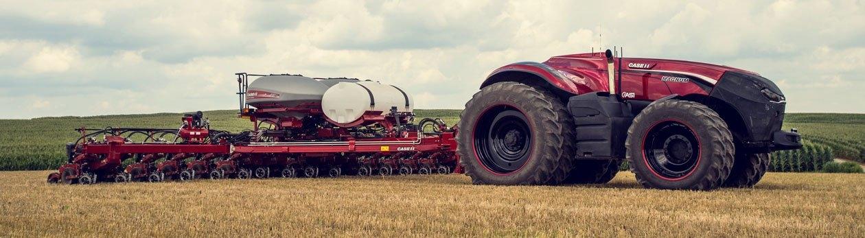 Да изореш 500 декара, чрез iPad-а си. Този робо-трактор е много повече от количка с дистанционно. И изглежда зъл! Видео