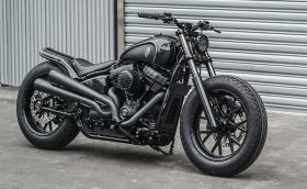 Tunder Chaser: Harley-Davidson Softail Street Bob от Rough Crafts
