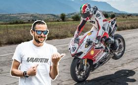 Ангел Караньотов – живот на скорост. Видео за един от най-добрите ни мотоциклетисти