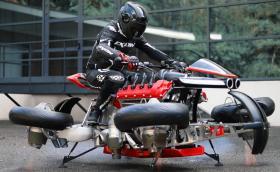 Lazareth LMV 496 е… летящ мотоциклет с 1300 коня. Видео!