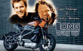 Юън Макгрегър и Чарли Бурман прекосяват Патагония с… електрически Harley-Davidson LiveWire