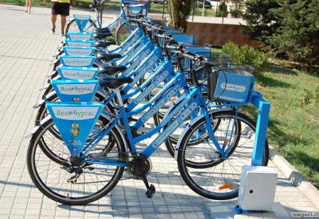 400 обществени колела и 33 стоянки в София през 2017