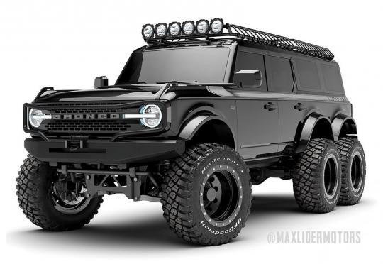 Вече може да поръчате Bronco 6x6. Проблемът е цената…
