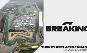 И тази година ще има Гран при на Турция. Канада отпада от календара на F1