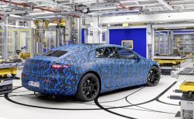 Mercedes ще покаже EQS на 15 април!