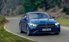 Mercedes обнови CLS с нова предница и волан
