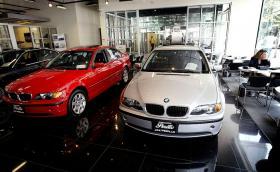 Мъж ограби банка с BMW под наем и после си го купи