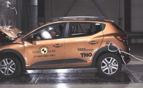 Euro NCAP даде само 2 звезди на Dacia Logan и Sandero (Видео)