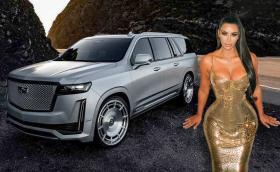 Този Cadillac Escalade ESV е направен за Ким Кардашиян