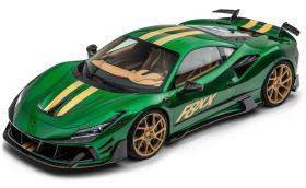 Mansory F8XX е зелено Ferrari с 880 к.с. (Галерия)