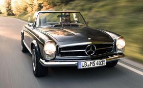 Нов живот и 4,3 V8 от 90-те за Mercedes-Benz SL W113
