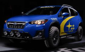 Subaru XV за сериозен офроуд от Crawford Performance