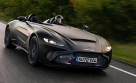 Aston Martin започна тестове на 12-цилиндровия Speedster
