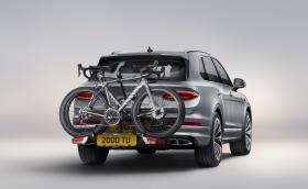 Кой каза, че Bentley не предлага багажник за колела!?