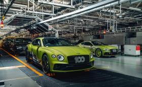 """Bentley е рекордьор на """"Пайкс Пийк"""" и предлага Conti GT Pikes Peak"""