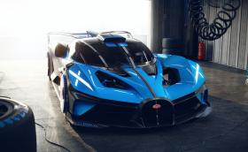 Bugatti показа маниакалния Bolide - 1850 к.с., ускорение до 400 км/ч за абсурдните 12 секунди...