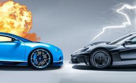 Volkswagen продава Bugatti на Rimac, за да купи част от Rimac... Какво!?!?