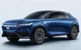 Honda SUV e:concept няма дръжки на вратите, изглежда яко