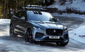 Обновеният Jaguar F-Pace идва навреме за зимния сезон