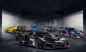 Новите пет ретро ливреи за Senna GTR LM са вдъхновени от McLaren F1