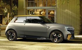 Ето как би изглеждало Renault 5 през 2020