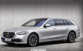 Какво ще кажете за S-class W223 в ролята на T-model?